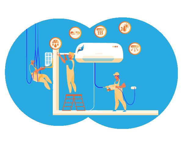 instalacion servicios climatizacion